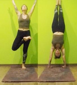 Come fare la verticale yoga